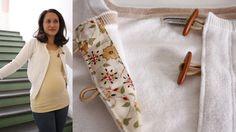 I Am Momma - Hear Me Roar: DIY cardigan