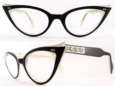 Retro Cat Eye Frames | VINTAGE CAT EYE GLASSES FRAME IN VERY GOOD VINTAGE CONDITION