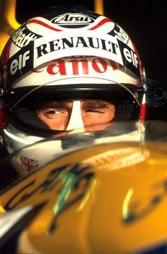 Nigel Mansell Spain 1991