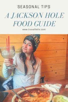 This food travel guide details where to eat in Jackson Hole, Wyoming during the offseason. Many restaurants are closed in Jackson Hole during the offseason, so be sure you know what's open, and what's deliciously waiting for your visit! Wyoming Vacation, Tennessee Vacation, Jackson Hole Restaurants, Whats Open, Jackson Hole Wyoming, All I Ever Wanted, Food Travel, Travel Guide, Eat