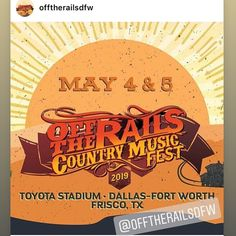 Off the Rails Country Music Fest - Metroplex Social - Entertainment Country Music, Jerry Reed, Floyd Rose, Chord Overstreet, Vip Tickets, Sanaa Lathan, Event Banner, Community Events, Concert Hall