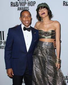 Zendaya and Ludacris at the 2014 BMI R&B/Hip-Hop Awards in Hollywood (August 22nd)