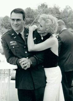 "Tommy Lee Jones and Jessica Lange in ""Blue Sky"" (1994) Jessica Lange - Best Actress Oscar 1994"