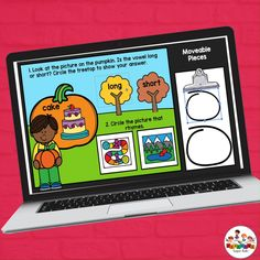 Practice short and long vowels with this set of Google Slides™. Students will use the circle pieces to mark long or short for the picture on the pumpkin. They will also use a circle to mark the word that matches. This is perfect for distance learning and easy enough for parents to follow along. Simply assign the slides through your Google Classroom™.  This set has a pumpkin theme and is perfect for October!