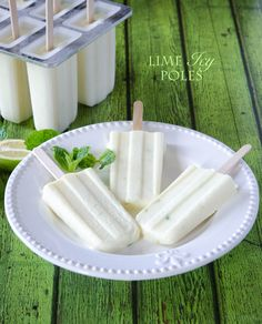 Lime Icy Pops