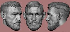 Hello Guys, here is finished bust of UFC fighter Conor McGregor, done in zbrush. hope you like it. Thanks !! -Gurjeet
