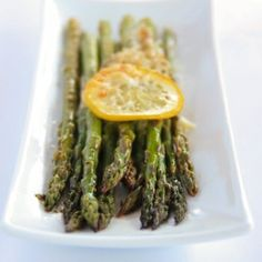 Image for Baked Asparagus with Lemon, Butter and Parmesan