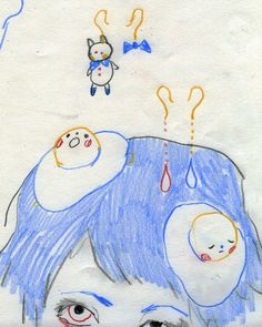 im kiko! Painting Inspiration, Art Journal Inspiration, Art Inspo, Aya Takano, Character Art, Character Design, Funky Art, Arte Horror, Aesthetic Art