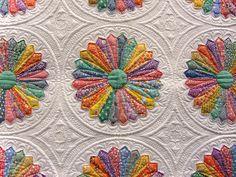 quilt, Inspired by Alice, Marilyn Lidstom Larson, detail of applique