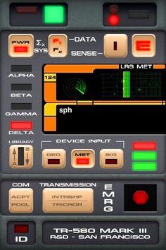 Star Trek Tricorder phone app!  I don't even like Star Trek and I want one!