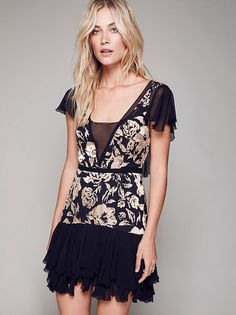 Gilded Age Mini Dress from Free People!