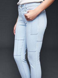 AUTHENTIC 1969 patchwork true skinny ankle jeans   Gap Patchwork, Mode,  Denim-jeans 6cf9d4f90f