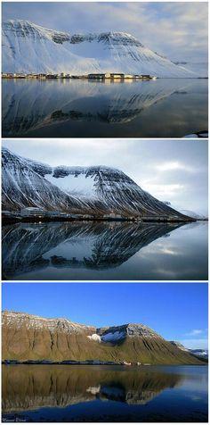 Change of seasons Isafjordur #Iceland#ScanAdventures
