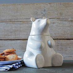 Bear Cookie Jar ($39, on sale for $14.99)