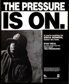 Eric Sermon - No Pressure (Vibe September 1993)
