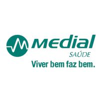 Medial Saude Logo. Get this logo in Vector format from https://logovectors.net/medial-1/
