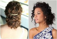 hairstyles for naturally curly hair - Google Search
