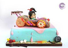 Vanellope Cake by Silvia Mancini Cake Art