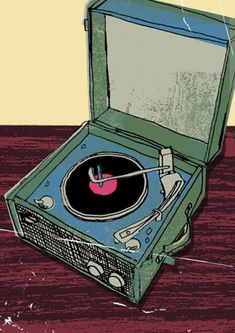Record Player series by Kavel Rafferty