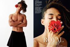 """Jaden Smith posa para editorial da Vogue com visual """"gender-fluid"""""""