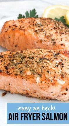 Air Fryer Salmon - Healthy and Delicious! - Recipe Diaries - Best Picture For salmon recipes For Your Taste You are looking for something, and it is going to - Salmon In Air Fryer, Air Fryer Recipes Salmon, Air Fryer Recipes Appetizers, Air Fryer Recipes Snacks, Air Fryer Recipes Vegetarian, Air Fryer Recipes Low Carb, Air Fryer Recipes Breakfast, Air Frier Recipes, Air Fryer Dinner Recipes