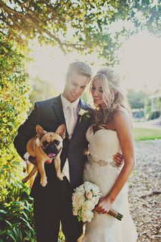 delicateweddings: That dog is so cute, I can't... - Wedding Collage