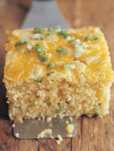Jalapeno Cheddar Cornbread - Barefoot Contessa. I am in the mood for some of this, and soon