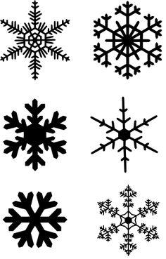 Snowflake Images, Snowflake Craft, Snowflakes, Christmas Vinyl, Christmas Images, Image Svg, Image Icon, Snowflake Silhouette, Frozen Snowflake