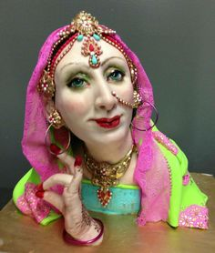 """"""".. demo piece from the three day Indian Dancer Class at Mother of Cakes... — with www.karenportaleo.com.""""(Karen Portaleo)"""