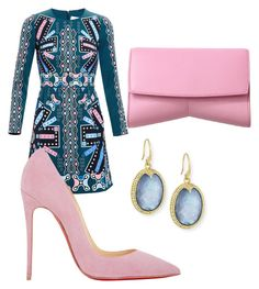 """""""Untitled #58"""" by meshlykana on Polyvore featuring Peter Pilotto, Christian Louboutin, Narciso Rodriguez and Armenta"""
