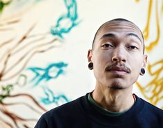 Brandon Sadler is a local Atlanta graffiti artist who graduated from the Savannah College of Art & Design.