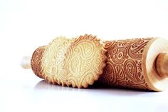 Personalize Your Pastries With Embossed Rolling Pins | Mental Floss