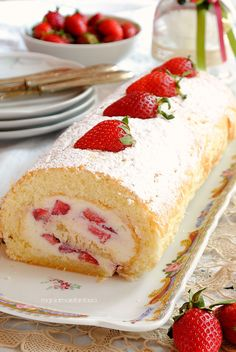 Baking Recipes, Cake Recipes, Dessert Recipes, Ricotta, Pastry Design, Best Italian Recipes, Almond Cakes, Homemade Desserts, Pinterest Recipes