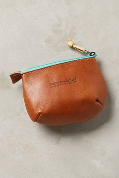 Casentino Coin Pouch #anthropologie