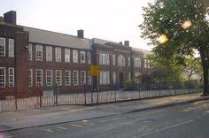 View of School My High school Flixton Girls Secondary School.