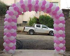 Balloon Arch, Balloons, Arches, Design, Globe Decor, Decorations, Manualidades, Bows