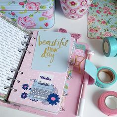 Beautiful new day to everyone. ^-^ #filofax #journalcard | Use Instagram online! Websta is the Best Instagram Web Viewer!