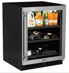 """AGA Marvel ML24BCG1RS Beverage Center with Door Right Side Hinge, 24"""", Stainless Steel  Price: US $1649.00 & FREE Shipping  #kitchen #love #home #lovedkitchen"""