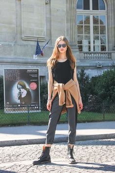 Street Style: Tanya Katysheva, Paris.