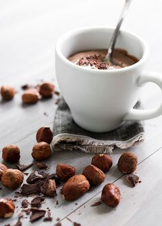 nutella pudding   by minimallyinvasivenj, via flickr