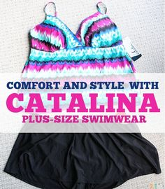 6951f7d3e9c Mix and Match  Comfort and Style with Catalina Plus-size Swimwear   wearwalmart