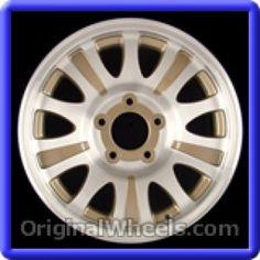 Ford Expedition 2001 Wheels & Rims Hollander #3412B  #FordExpedition #Ford #Expedition #2001 #Wheels #Rims #Stock #Factory #Original #OEM #OE #Steel #Alloy #Used