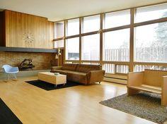 The Devney Residence in Ellensburg, Washington was designed by James Cowan in 1957.