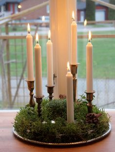 Lys - Candles diy ideer - Happy Christmas - Noel 2020 ideas-Happy New Year-Christmas Christmas Feeling, Scandinavian Christmas, Christmas Porch, Rustic Christmas, Simple Christmas, Winter Christmas, Christmas Crafts, Christmas Decorations, Xmas