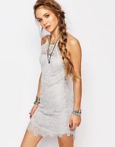 Image 1 ofFree People She's Got It Lace Slip Dress