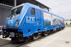 Austria - Such a beauty: the new LTE TRAXX AC Last Mile locomotive (Bombardier)