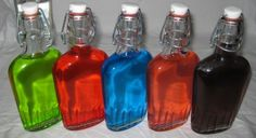 Jolly Ranchers Vodka, easy to make, fun party item, strong flavor!