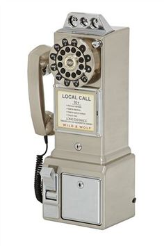 Buy Chrome Finish 50s Retro Telephone from the Next UK online shop