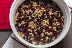 Cranberry Banana Oatmeal Bake | Skinny Mom | Where Moms Get The Skinny On Healthy Living