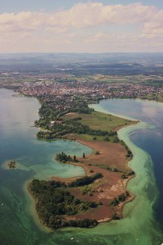 Peninsula METTNAU (near Radolfzell)  in Lake Constance